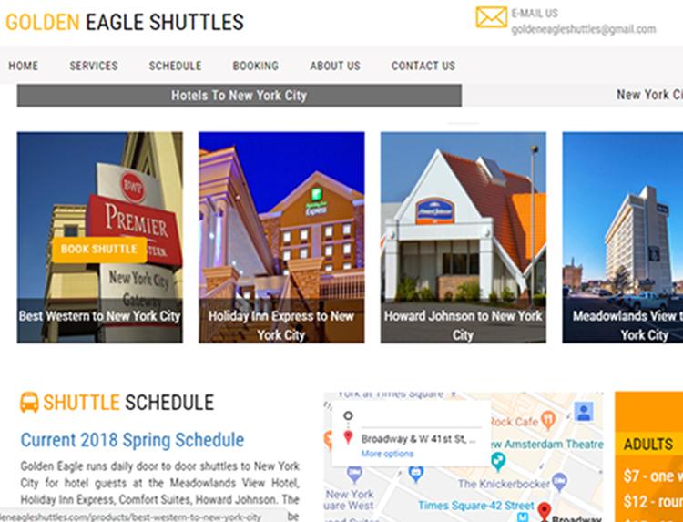 Golden Eagle Shuttles